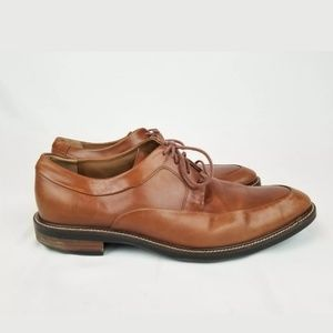 Cole Haan Men's Brown Leather Oxfords Size 9.5M